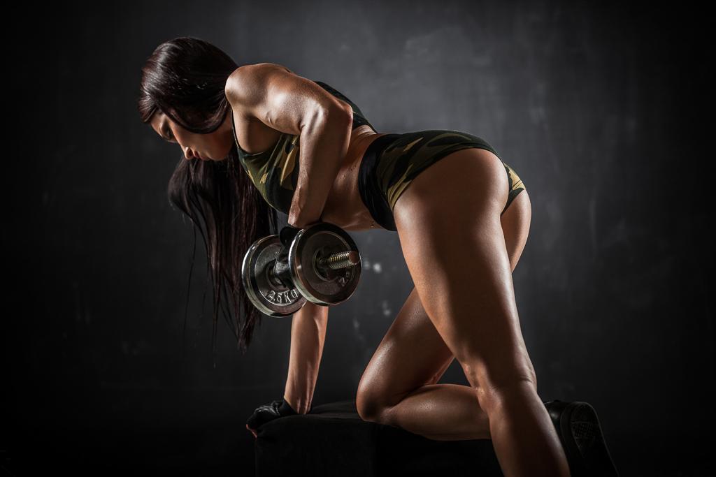 Wieviel Muskelmasse kann ich pro Monat als Frau aufbauen ?