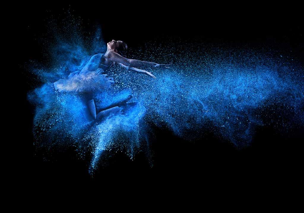 Ballerina mit Panikstörung und Depression