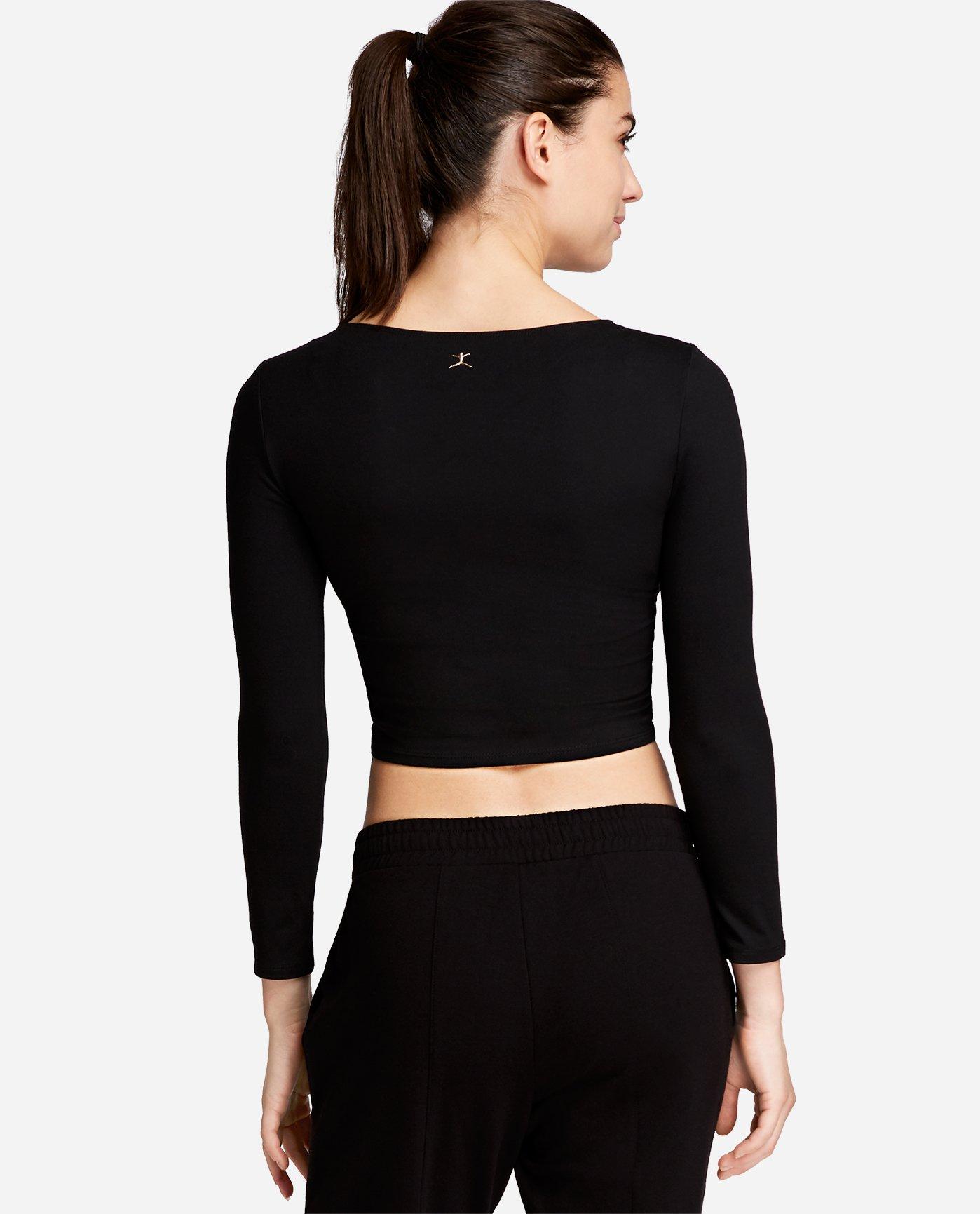 Long Sleeve Crossover Top Jenna Dewan X Danskin