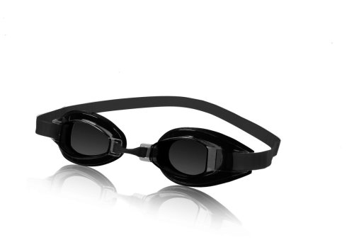 Speedo Schwimmbrille Sprint, für Wettkämpfe, getönte Gläser